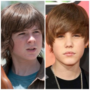 Walker Bieber called and wants his hair back, Carl!