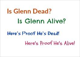 is glen dead